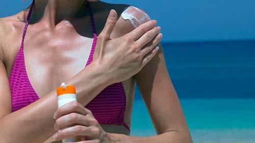 como protegerse del sol
