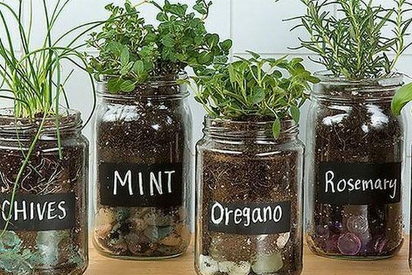 Ideas para reutilizar tarros de vidrio