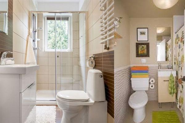 Ideas geniales para decorar un baño pequeño