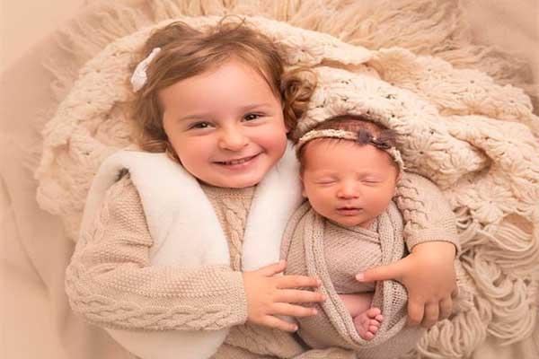 Molly la bebé que nació de un embrión congelado hace 27 años