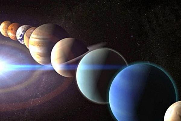 ¿De dónde viene el nombre de los planetas?
